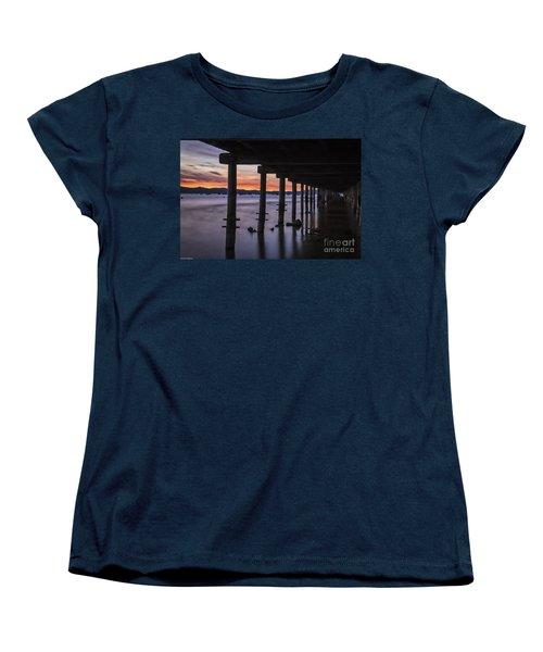 Timber Cove Women's T-Shirt (Standard Cut) by Mitch Shindelbower