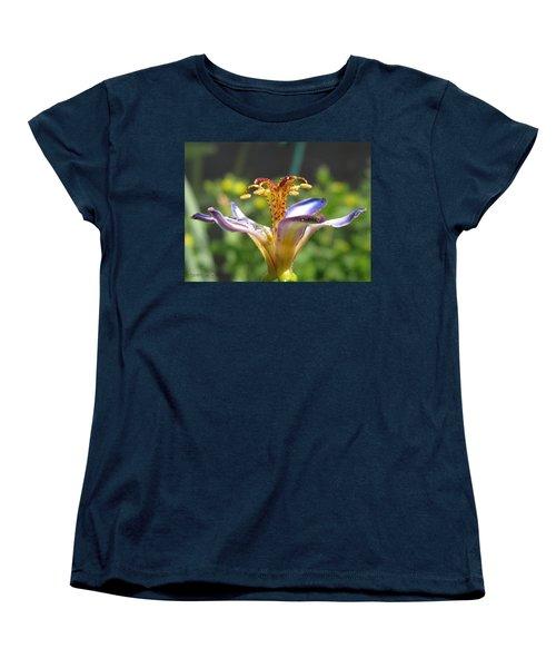 Tricyrtis Named Taipei Silk Women's T-Shirt (Standard Cut) by J McCombie