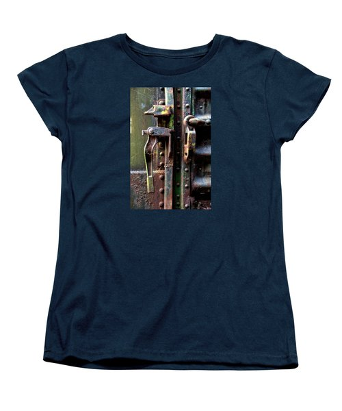 Women's T-Shirt (Standard Cut) featuring the photograph Unhinged by Newel Hunter