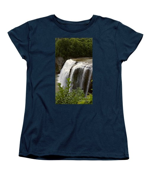 Waterfall Women's T-Shirt (Standard Cut) by Raymond Earley