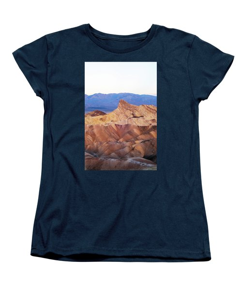 Women's T-Shirt (Standard Cut) featuring the photograph Zabriskie Point by Catherine Lau