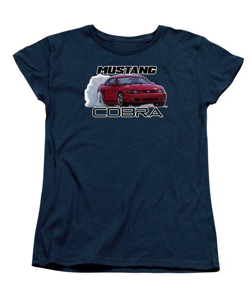2004 Mustang Cobra Women's T-Shirt (Standard Cut) by Paul Kuras