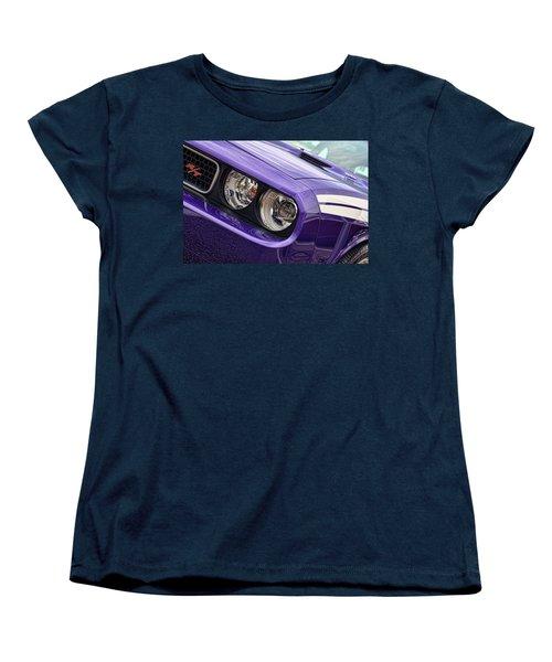 2011 Dodge Challenger Rt Women's T-Shirt (Standard Cut) by Gordon Dean II