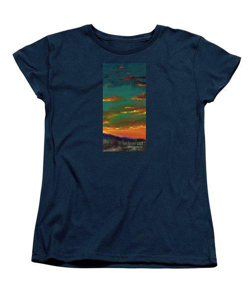 2nd In A Triptych Women's T-Shirt (Standard Cut) by Frances Marino