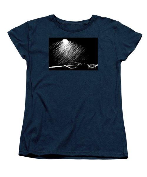 3-21-16 Snow Women's T-Shirt (Standard Cut) by Steven Macanka