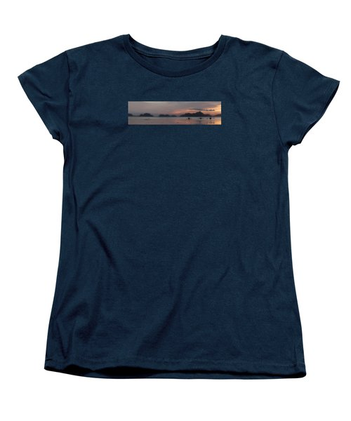 3 Boats Women's T-Shirt (Standard Cut) by John Swartz