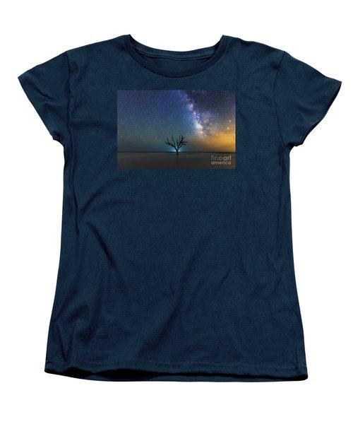 Edisto Island Milky Way Women's T-Shirt (Standard Cut) by Robert Loe