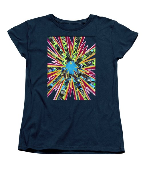 Goodluck Star Sparkles  Women's T-Shirt (Standard Cut) by Navin Joshi
