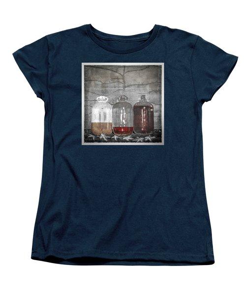 3 Jugs Women's T-Shirt (Standard Cut) by Marty Garland