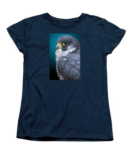 Peregrine Falcon Women's T-Shirt (Standard Cut) by Brian Stevens