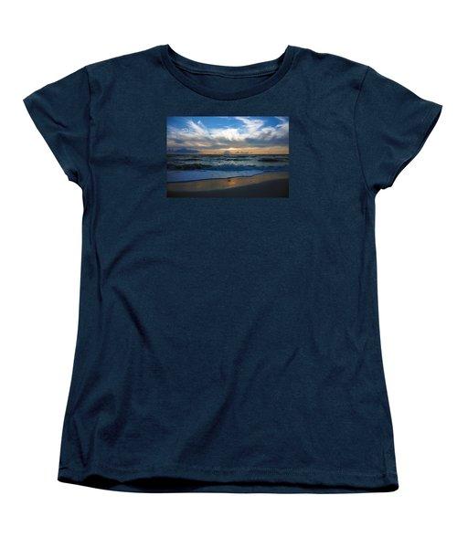 Sunset At Delnor-wiggins Pass State Park Women's T-Shirt (Standard Cut)