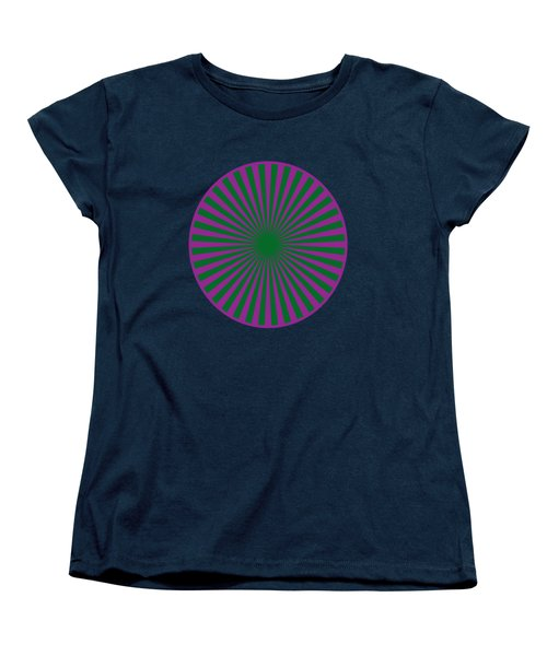 T-shirts N Pod Gifts With Chakra Design By Navinjoshi Fineartamerica Pixels Women's T-Shirt (Standard Cut) by Navin Joshi
