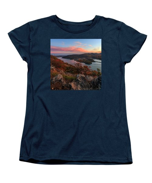 Women's T-Shirt (Standard Cut) featuring the photograph The View  by Anthony Fields