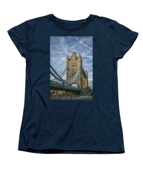 Tower Bridge London Women's T-Shirt (Standard Cut) by Patricia Hofmeester