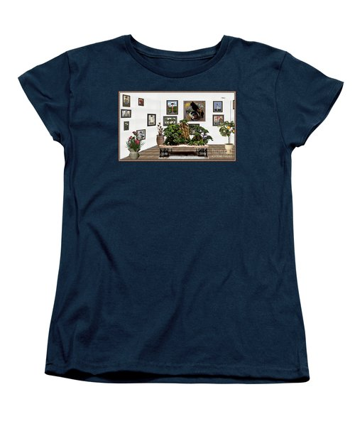 Virtual Exhibition -  Bonsai 16 Women's T-Shirt (Standard Cut) by Pemaro