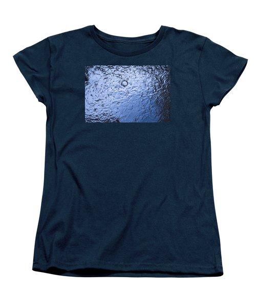 Water Abstraction - Blue Women's T-Shirt (Standard Cut)