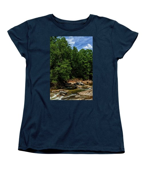 Women's T-Shirt (Standard Cut) featuring the photograph Williams River After The Flood by Thomas R Fletcher