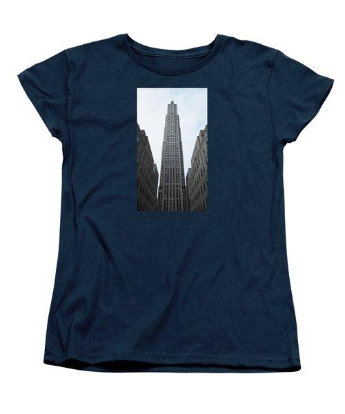 30 Rockefeller Center Women's T-Shirt (Standard Cut) by Christopher Kirby