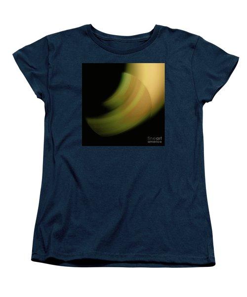 Women's T-Shirt (Standard Cut) featuring the digital art 3000 2017 by John Krakora