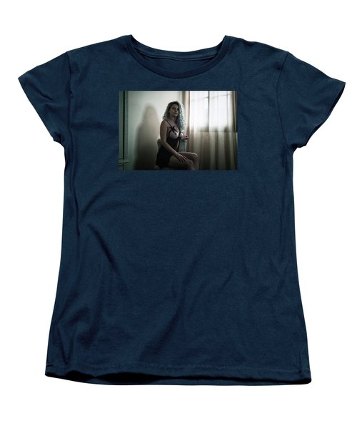 Tu M'as Promis Women's T-Shirt (Standard Cut) by Traven Milovich