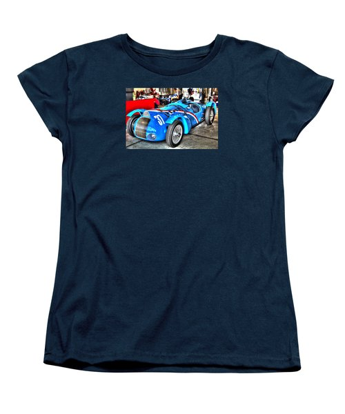 Delahaye Fast From The Front Women's T-Shirt (Standard Cut) by Josh Williams