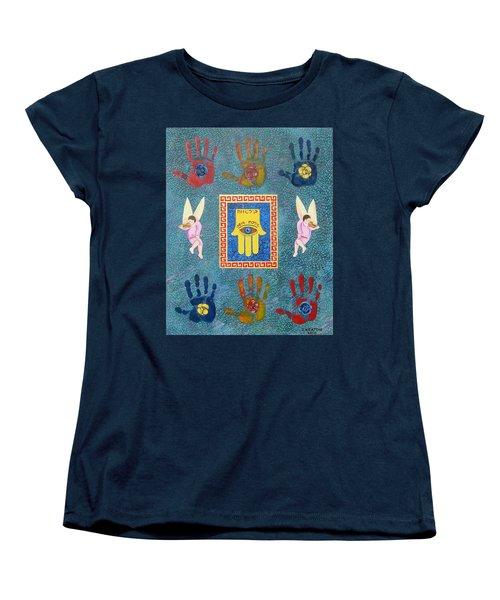 A Lesson In Symmetry Women's T-Shirt (Standard Cut) by John Keaton
