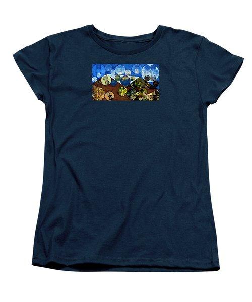 Women's T-Shirt (Standard Cut) featuring the digital art Abstract Painting - Wood Bark by Vitaliy Gladkiy