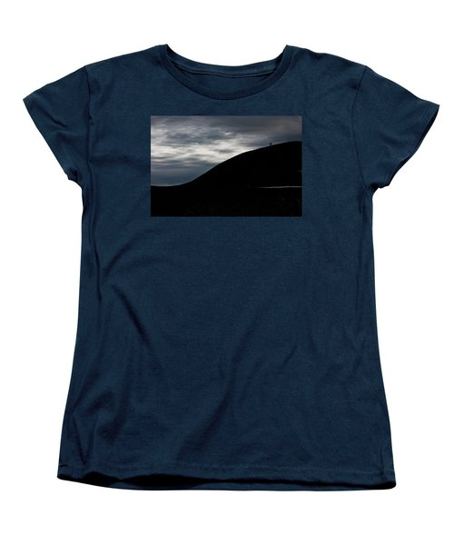Etna, The Volcano Women's T-Shirt (Standard Cut) by Bruno Spagnolo