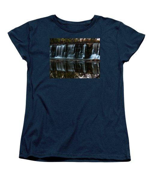 Kansas Waterfall Women's T-Shirt (Standard Cut) by Jay Stockhaus