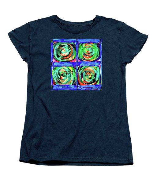 Letter To Kandinsky Women's T-Shirt (Standard Cut) by Danica Radman