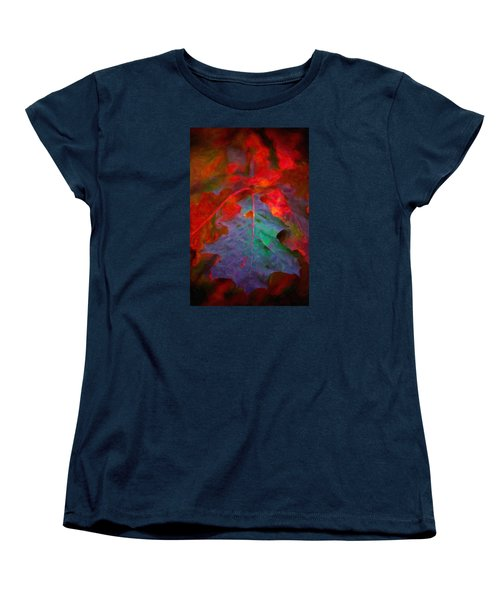 Oak Leaf Women's T-Shirt (Standard Cut) by Andre Faubert