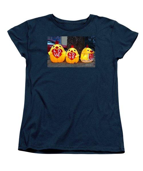 Women's T-Shirt (Standard Cut) featuring the photograph The 2017 Lantern Festival In Taiwan by Yali Shi