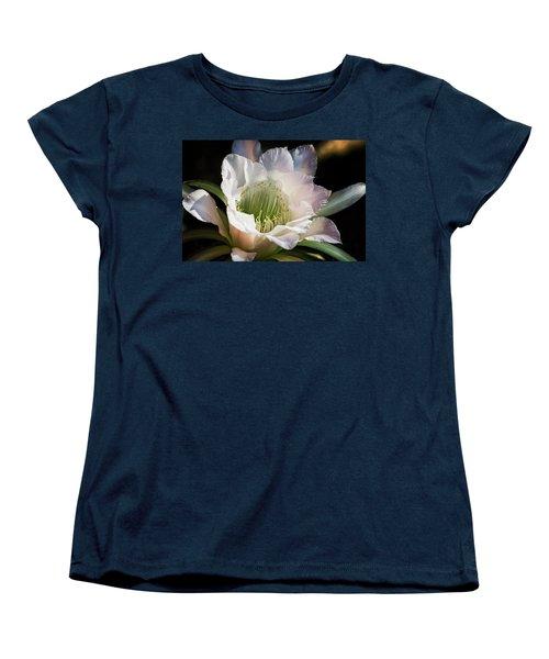 Women's T-Shirt (Standard Cut) featuring the photograph The Beauty Of White  by Saija Lehtonen