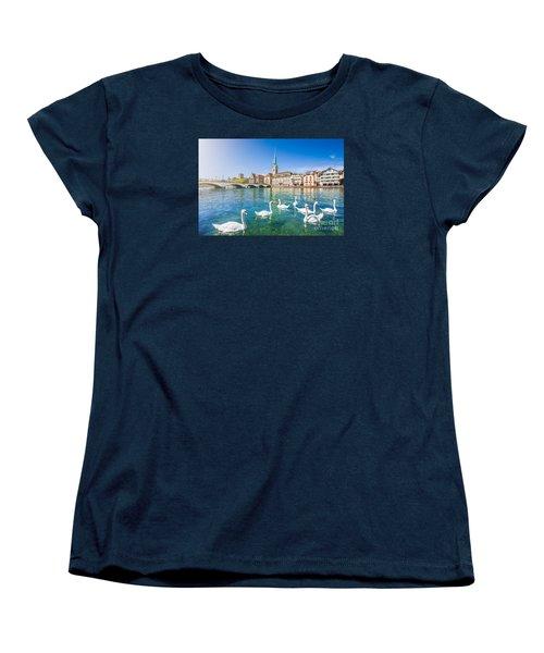 Zurich Women's T-Shirt (Standard Cut) by JR Photography