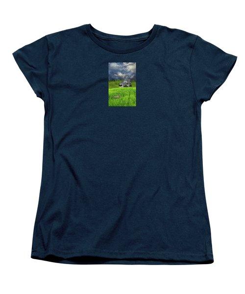 Women's T-Shirt (Standard Cut) featuring the photograph 4379 by Peter Holme III
