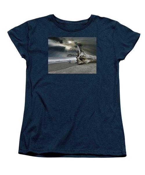 Women's T-Shirt (Standard Cut) featuring the photograph 4392 by Peter Holme III