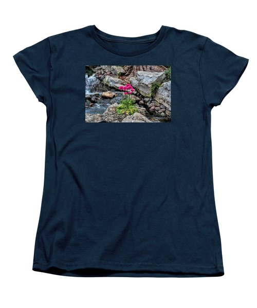 Women's T-Shirt (Standard Cut) featuring the photograph Dallas Arboretum by Diana Mary Sharpton