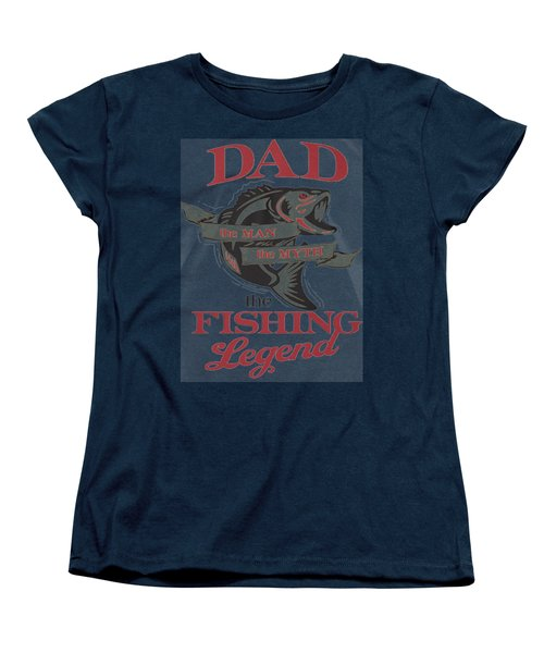 Fishing Women's T-Shirt (Standard Cut) by Thucidol