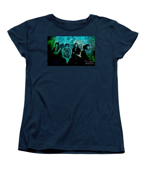 Kings Of Leon Women's T-Shirt (Standard Cut) by Marvin Blaine