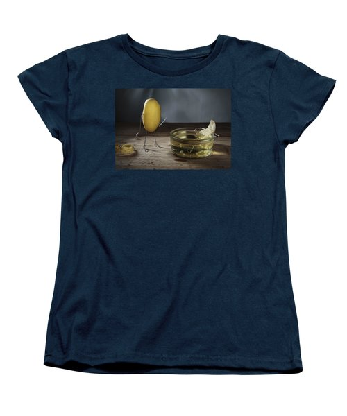 Simple Things - Potatoes Women's T-Shirt (Standard Cut) by Nailia Schwarz