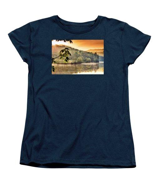 Stonewall Resort Sunrise Women's T-Shirt (Standard Cut) by Thomas R Fletcher