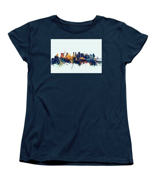 Tokyo Japan Skyline Women's T-Shirt (Standard Cut)