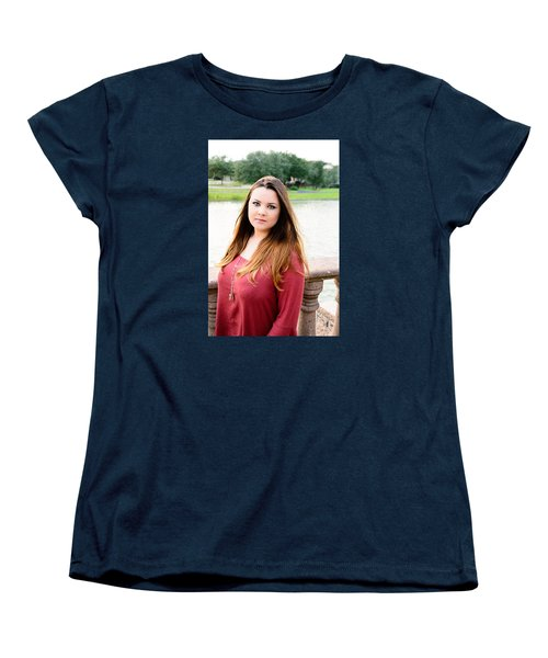 Women's T-Shirt (Standard Cut) featuring the photograph 5601 by Teresa Blanton
