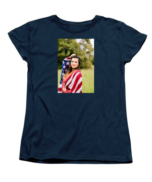 Women's T-Shirt (Standard Cut) featuring the photograph 5633-2 by Teresa Blanton