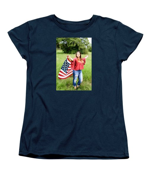 Women's T-Shirt (Standard Cut) featuring the photograph 5649-2 by Teresa Blanton