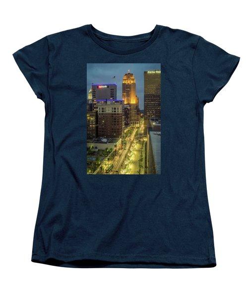 5th Street Cincinnati Women's T-Shirt (Standard Cut) by Scott Meyer