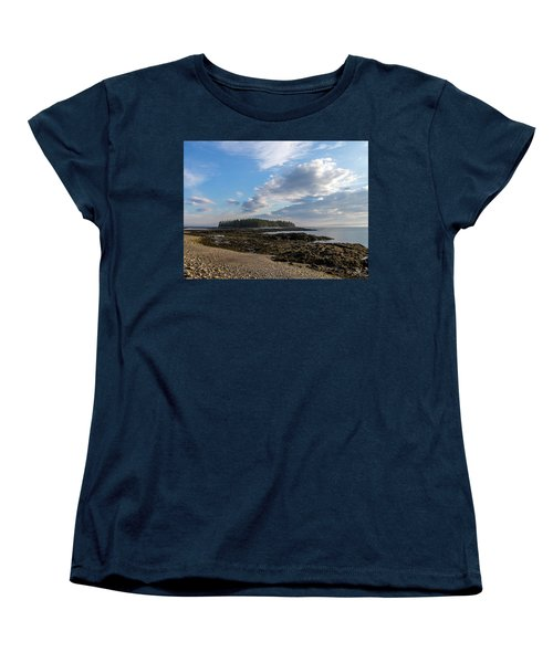 Acadia National Park Women's T-Shirt (Standard Cut) by Trace Kittrell