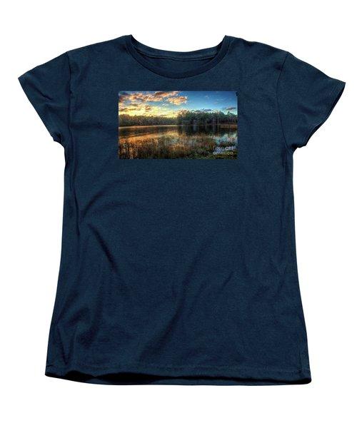 Flint Creek Women's T-Shirt (Standard Cut) by Maddalena McDonald