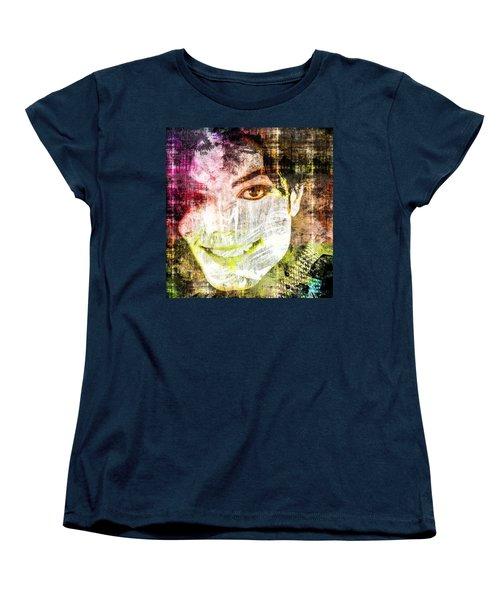 Michael Jackson Women's T-Shirt (Standard Cut) by Svelby Art