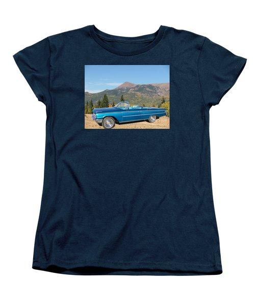 63 Ford Convertible Women's T-Shirt (Standard Cut) by Steven Parker